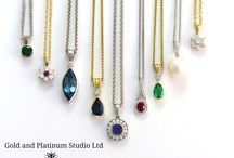 Divine Necklaces / The wonder of a beautiful necklace! They can add glamour to the most casual of outfits, and can make the perfect gift. Here are some examples of some of ours. Most designed and handmade in our Studio in Bath.