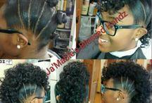 Afro on Fleek