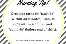 Nursing Tips / Here you'll find handy mnemonics, definitions, practice pointers, and more.