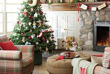 Christmas Inspirations 2014 / This is what is inspiring me this year.  I am definitely a Rustic-Farmhouse kinda gal.