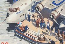 The Pioneering Era Flying Boats / Where new routes around the world started bringing us closer together.  / by Adrian Lyons