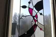 vitráže moje práce