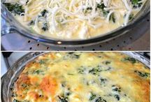 Quiche spinach& mushrooms