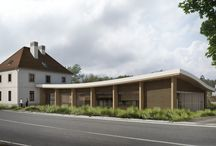 WOODEN OFFICE BUILDING, RATÍŠKOVICE / THE FIRST PLACE IN COMPETITION ABOUT EXTENSION OF THE EXISTING BUILDING OF TIMBER-MINING COMPANY