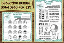 Detective Bundle(Detective Candies/Top Secret Treats)