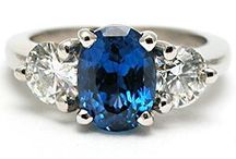 Sapphire Rings / Magical, enticing, royal sapphires... elegant on your hand.