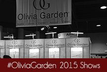 #OliviaGarden 2015 Shows / 2015 is full of beauty shows, from International Salon & Spa Expo to the Professional Beauty Association, this board is a look from the shows. #OliviaGarden #BeautyTools