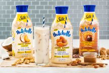 Hello, Nutchello! / Pour a big glass of break time! Dive in to new, deeply delicious Silk® Nutchello™. With 90 calories or less per serving, this nutty delight will have your taste buds walking on air. / by Silk