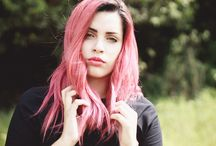 Larys Fabri 2014 / my pink hair <3