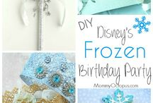 Party {frozen} / Craft DIYs and inspiration for all things related to a frozen party theme!