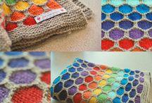 rainbow / ideas for rainbow yarn