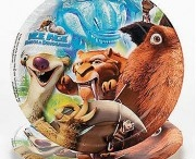 Ice Age Birthday Party Ideas, Decorations, and Supplies / Ice Age Party Supplies from www.HardToFindPartySupplies.com, where we specialize in rare, discontinued, and hard to find party supplies. We also carry several of the more recent party lines.