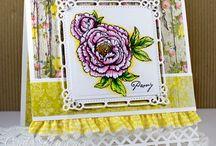 Flourish Cards / Cards created using Flourish Stamps