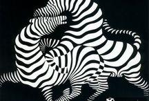 Виктор Вазарели / (фр. Victor Vasarely, венг. Vásárhelyi Győző; 1906—1997) — французский художник, график и скульптор венгерского происхождения, ведущий представитель направления «оп-арт».