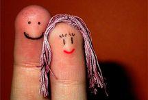 Fingerpuppets / Just funny ideas