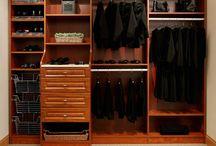 closets/garage