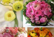 Wedding bouquets / Flowers etc.