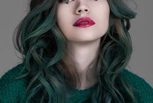 [Hair] Green
