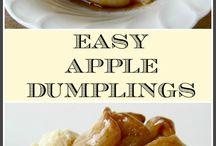 Apple dumplingsecipe please