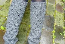 Knitted Legwarmers & Socks