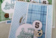 kartki dla dziecka / Ręcznie wykonane kartki o tematyce dziecięcej, wykonane z materiałów marki Papelia oraz innych produktów dostępnych w sklepie Craft Style