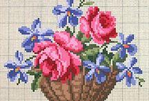 panier fleur