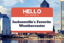 """2014 Jacksonville, FL Favorite Weathercaster / Weatherist's """"America's Favorite Weathercaster"""" contest is now in Jacksonville!  Show your support by voting for your favorite Jacksonville, FL Weathercaster below.  You can vote once per day, and voting ends at 11:59pm on 8/29, so get voting! @  http://bit.ly/jksnfav"""