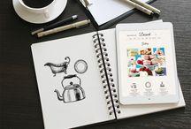 Mockups   Notebooks + Sketchbooks