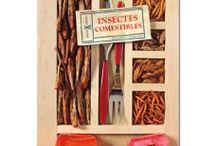 les insectes comestibles / détails d'insectes comestibles