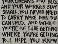 Words... / by Ambur Whipple