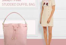 Sandy Pink bucket bag - Marlafiji