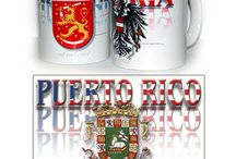 Puerto Rico Souvenirs / Shirts, car flags, stickers, mugs with Puerto Rico designs