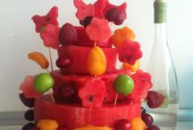 Watermelon cake ! / Hafif yazlık pasta ..
