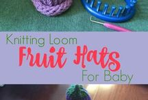 Loom knit stitches