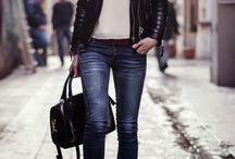 Obtažené džíny