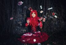 Queen of Hearts / Ohotosession Queen of Hearts costume, stylization and props - me.