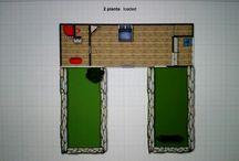 casa contenedores planos