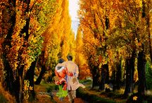 Golden Autumn GIF / Creatii personale animate. Animated personal creations