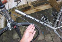 Van Nicholas - Chinook / My broken titanium Van Nicholas Chinook road bike frame. Glad it wasn't me!