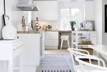 Hvitt kjøkken / Ideer til hvitt kjøkken
