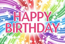 Happy Colorful Birthday Cards
