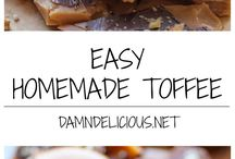 Toffee / Homemade toffee