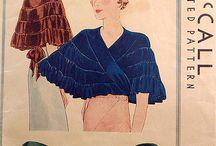 1920s-1930s women evening dress