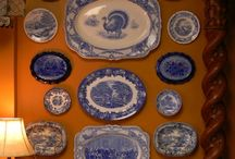 Декоративные тарелочки.