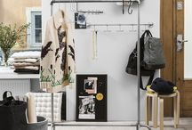 Fall start 2015 / Great interiors for the hallway and workspace.