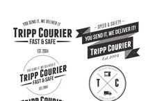 Courier Design / Inspiration for courier designs