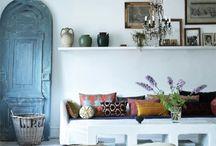 bohemian decor / by Julie Hayward