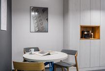 Wnętrza - biuro /  Nasze projekty wnętrz biurowych.