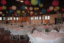 Event Decorating / We have all sorts of events ranging from weddings, to fundraisers, to baptisms, to dog shows, and more.  These pictures are how previous events have decorated our buildings to give you ideas for your event!