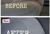 pulizia sedili macchina